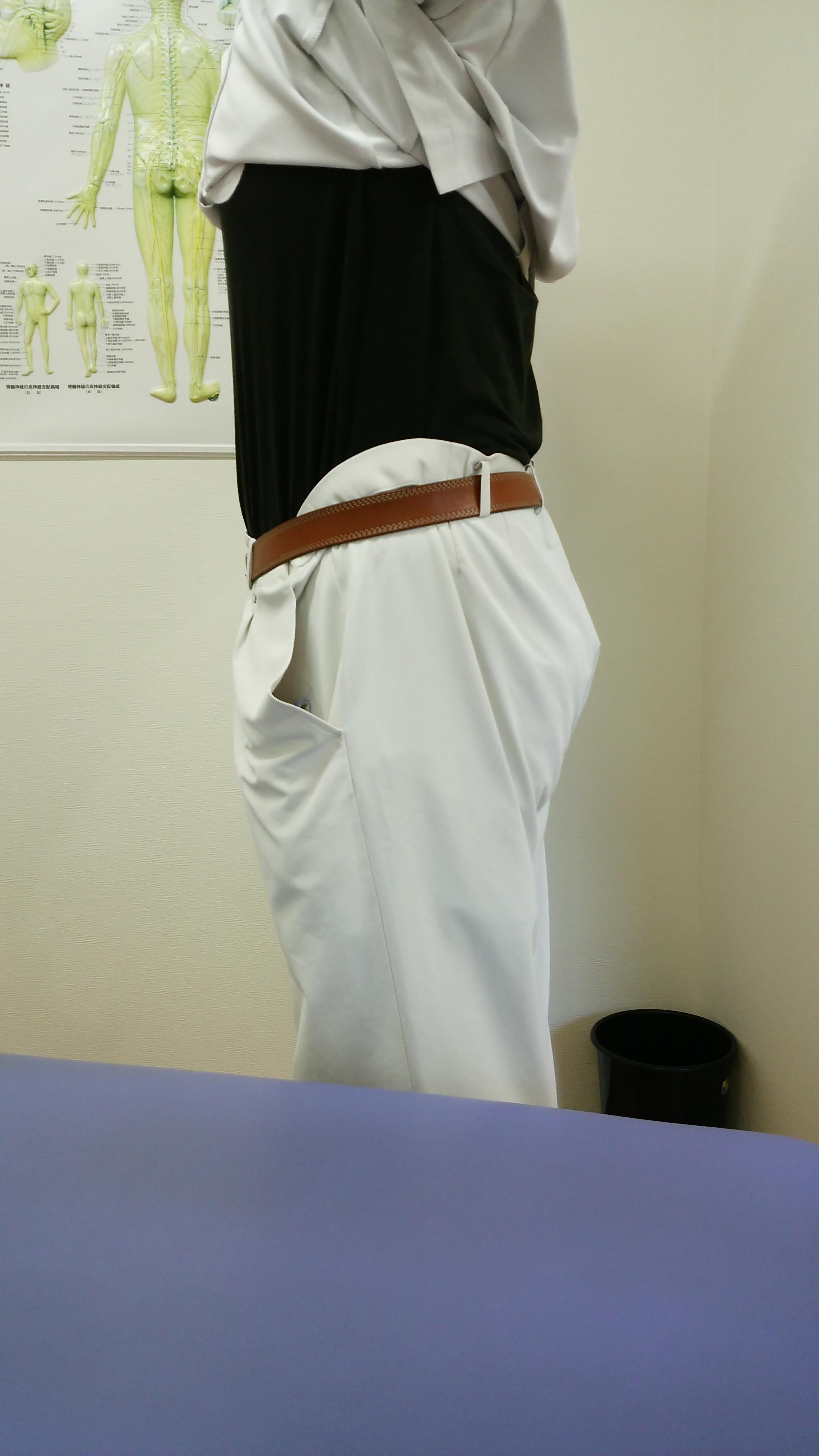 太っていた頃に作ったズボン